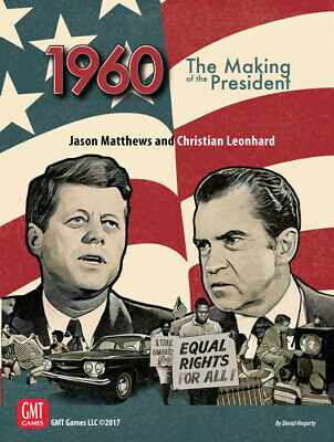 1960 Making of the President Board Game GMT Games Sealed (1960 The Making Of The President Game)