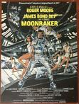 James Bond - Roger Moore - Original French movie poster (40x