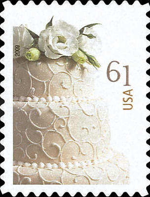 2009 61c Wedding Cake, Special Issue Scott 4398 Mint F/VF NH - Minted Wedding