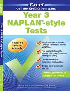 NAPLAN Style Tests Year 2, 3, 4, 5 or 6 BNew numeracy language reading Excel