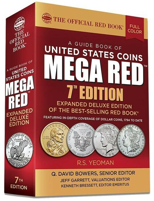 2022 New Mega Red Book Guide United States Coins US Official Whitman Price List