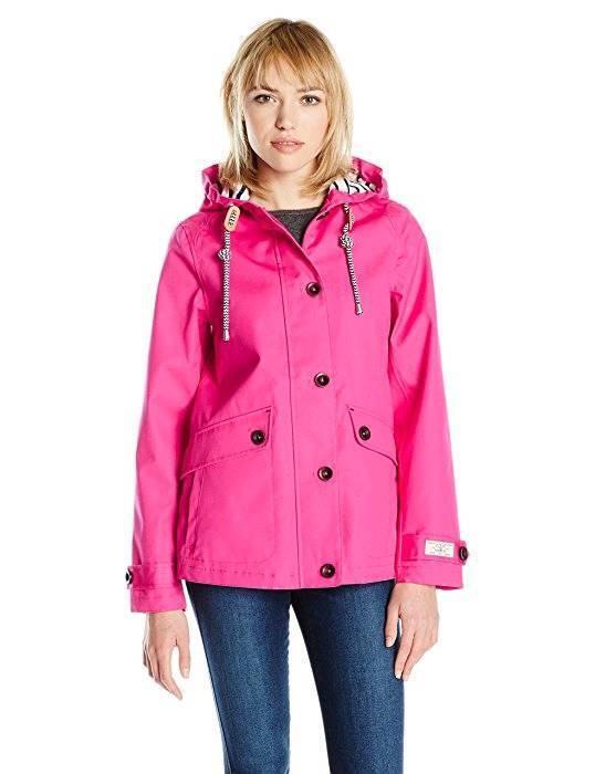 Joules waterproof ladies coat 12