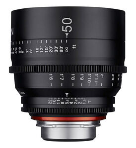 Xeen 50mm Cinema Lens for SALE in mint condition, brand new