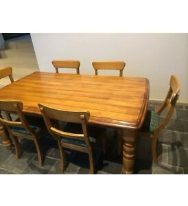 Beautiful solid timber table great condition. Retro look!! Illawong Sutherland Area Preview