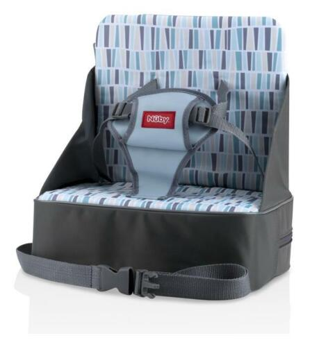 Nuby Easy Go Booster Seat - Easy to Use - Collapsible & Light weight - 9+ Months