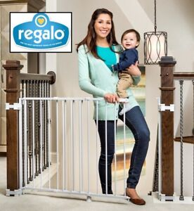 Brand new REGALO TOP OF STAIRS EXPANDABLE METAL GATE