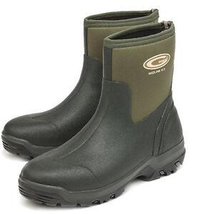Grubs Midline Ankle Neoprene Short Wellington Boots/Muck Boots Size 10