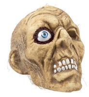 Cráneo De Calabera Grande Con Cabellos Y Auge, Decoración Grusel, Halloween -  - ebay.es
