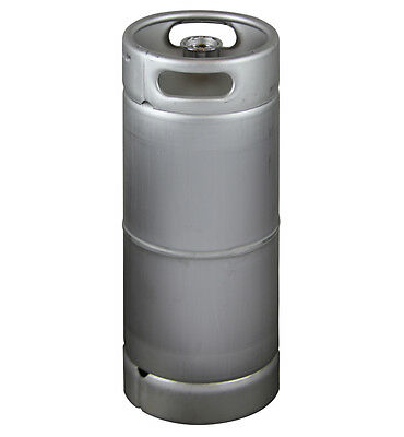 New Kegco 5 Gallon Commercial Sixth Barrel Keg - Threaded D System Sankey Valve