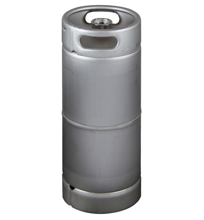 NEW Kegco 5 Gallon Commercial Sixth Barrel Keg - Threaded D System Sankey Valve