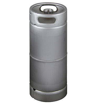 New Kegco 5 Gallon Commercial Draft Beer Keg - Drop-in D System Sankey Valve