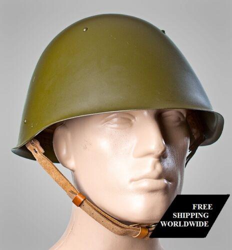 Original USSR Military Soviet Army SSh 68 Type Steel Helmet Size 2 Russian NOS