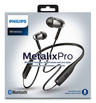 Philips SHB5950 Metalix PRO Wireless Bluetooth In Ear Headphones - Brand New