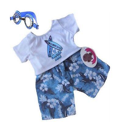 Blue Surfer Outfit