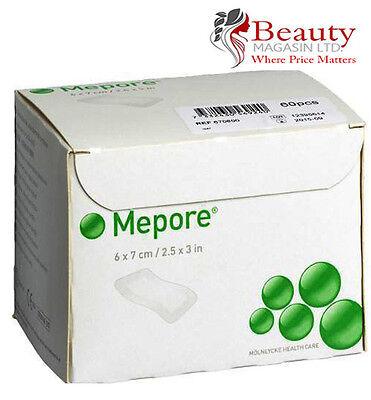 Mepore Self-Adhesive First Aid Dressing - 6 cm X 7 cm (60 Dressings)