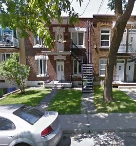 5 1/2 for rent minutes from monk metro