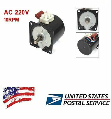 Us Ship New 60ktyz Permanent Magnetic Synchronous Motor 220 - 240v 14w 10rpm