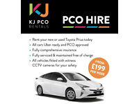 ** TOYOTA PRIUS £200 FULLY COMP - PCO CAR HIRE / RENTAL / RENT / HYBRID - UBER READY **
