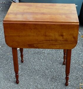 Antique Cherry Drop-leaf Table Kingston Kingston Area image 7