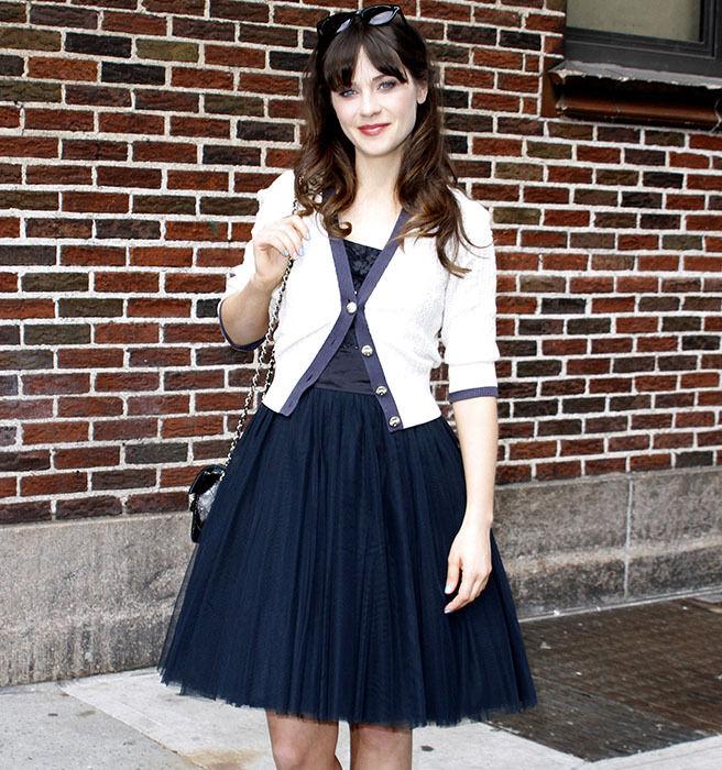 Zooey deschanel casual dress