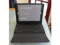 Brookstone Pro Leather ipad Air / Air 2 case with bluetooth keyboard (Unused) - Reduced price