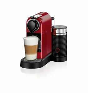 Nespresso Citiz&Milk coffee machine RED