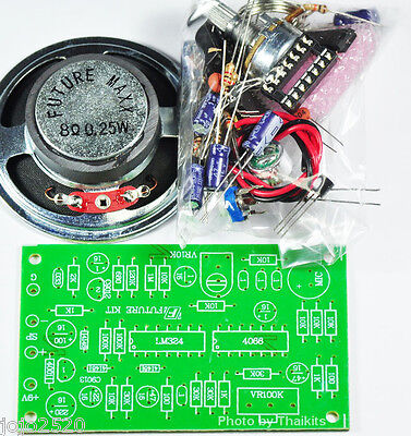 Human to Robot voice converter / Changer Unassembled kit for Student [FK930]