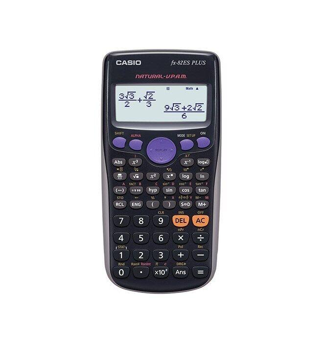 Casio FX-82Es PLUS BK Scientific Calculator 252 Functions NATURAL-V.P.A.M. BLACK