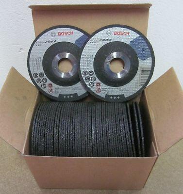 50 Stück Bosch Trennscheiben gekröpft für Metal 115mm, 22,23mm, 2,5mm Restposten