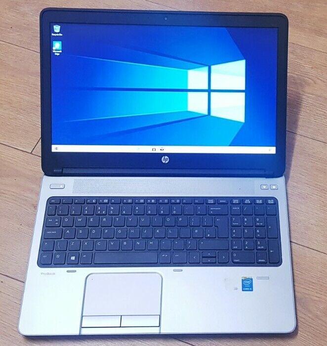 """Laptop Windows - HP ProBook 450  15.6"""" Laptop,Intel Core I5-4200M,8GB RAM,750GB HDD,Windows10"""