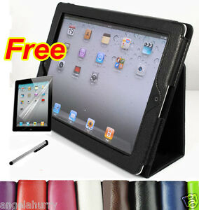 The-New-iPad3-iPad2-Stand-Fold-Premium-PU-Leather-Pouch-Case-Cover