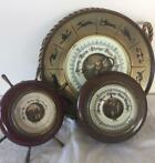 Vintage Oak Case barometers - Barometer (3) - Art Deco - Hou