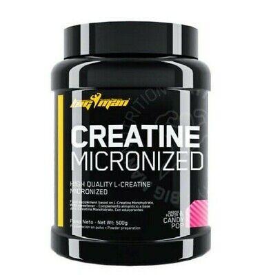CREATINE 500gr BIGMAN Creatina monohidrato micronizada