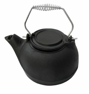 Cast Iron Kettle Humidifier Antique Moisture Wood Burning Stove Fire Decorative