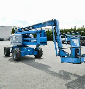 Genie Z-60/34 4x4 Articulated Boom Lift 66ft