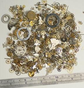 50g-watch-parts-STEAMPUNK-JEWELLERY-ALTERED-ART-CRAFTS-CYBERPUNK-COGS-GEARS-ETC