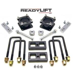 "Readylift 3"" Toyota Tundra 2007-2018 ReadyLIFT Suspension 3"" Coil Spacer 1"" Rear Block Lift Kit"