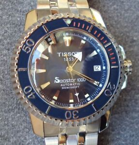 LOOKING FOR A Tissot seastar 1000 Automatic