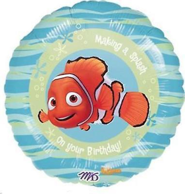 Finding Nemo Balloons (Finding Nemo Making A Splash Two Sided Mylar Foil 18