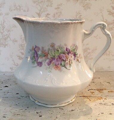 """Vintage Porcelain pitcher , 6 1/2"""" tall"""