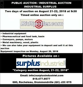 INDUSTRIAL AUCTION