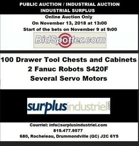 Drawer Tool Chests and Cabinets & Surplus Industrial
