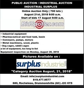 INDUSTRIAL AUCTION ONLINE