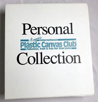 257 Annie's International Plastic Canvas Club Patterns & Binder