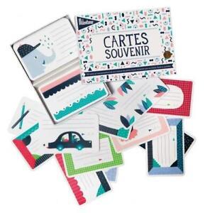 100 Cartes souvenir - Français