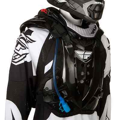 Roost Kit - Fly Racing Stingray Hydration/Protection Kit Black Chest Roost Protector Guard