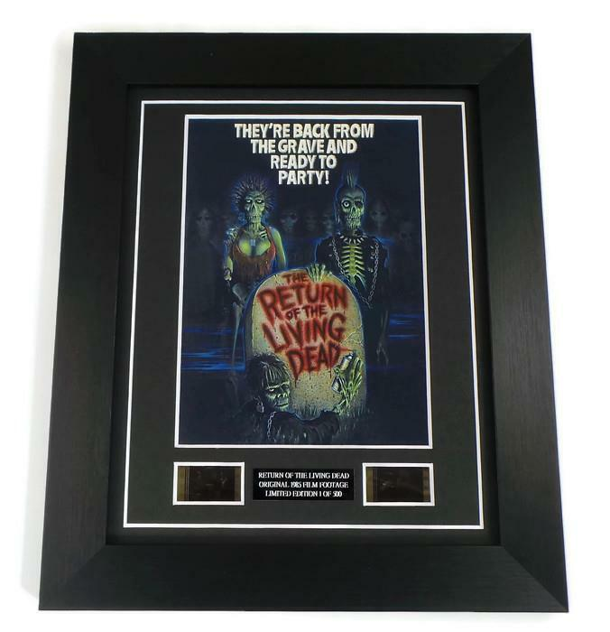 RETURN OF THE LIVING DEAD FILM CELLS Movie Memorabilia ZOMBIES HORROR GIFTS