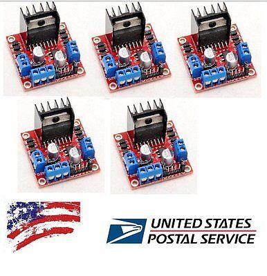 5x L298n Dual H Bridge Stepper Motor Driver Controller Board Module Raspberry Pi