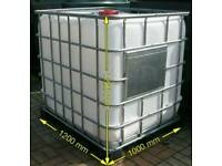 Ibc tanks use for water ,oil all clean delivery available call 07397393098