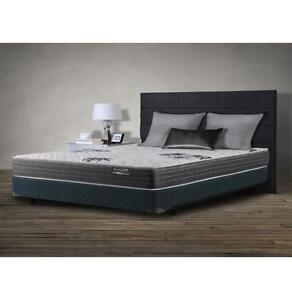 Bed/Matress, Box Spring, and Metal Frame (Double)